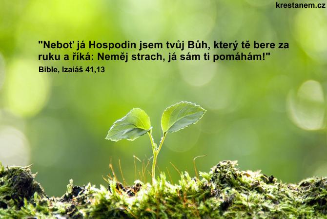 Neboť já Hospodin jsem tvůj Bůh