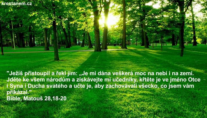 Ježíš přistoupil