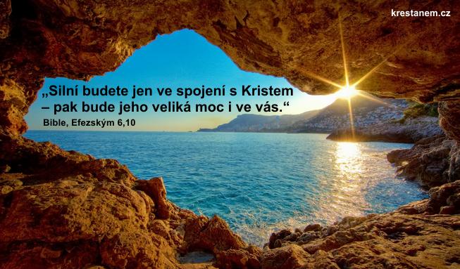 Silní budete jen ve spojení s Kristem