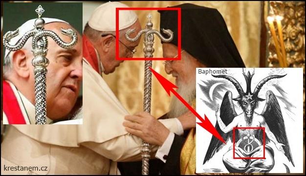 Papež František pravoslavným patriarchou Bartolomějem