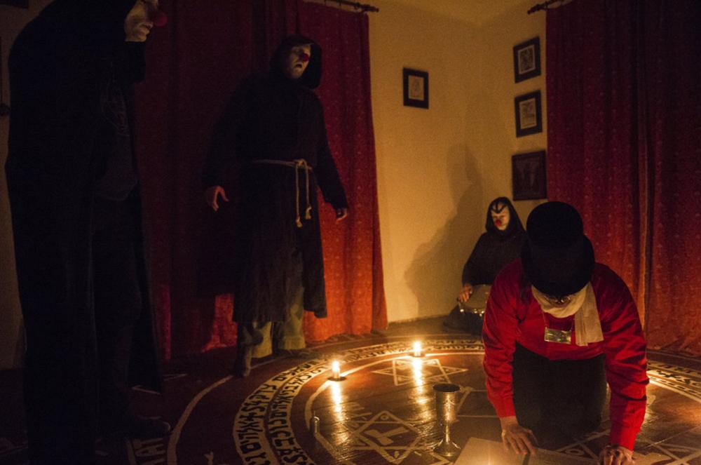 Pražští satanisté