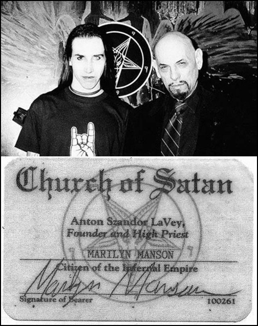 Marilyn Manson, Anton LaVey